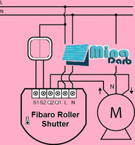 نصب موتور کرکره برقی